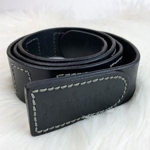 Vintage Earth Black Belt